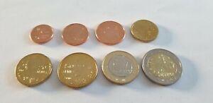 série euro de 1 cent a 2 euro Grèce  celons année voir annonce pièces