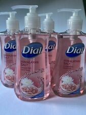 Dial Pink Himalayan Salt Hydrating Hand Soap 7.5 Fl oz. Each- 4 Pack Total Lot