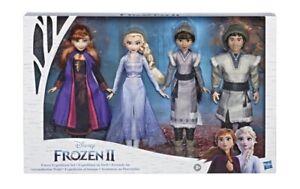 Frozen II Forest Deluxe Expedition Set Honeymaren Ryder Elsa Anna New Free Ship