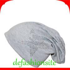 Gorras y sombreros de mujer de color principal gris 100% algodón