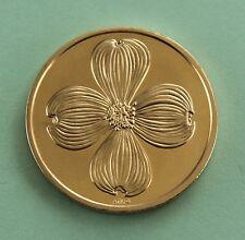 Dogwood  Christian  Cross token