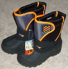 BOYS SIZE 2 INSULATED -5 Degrees WINTER SNOW BOOTS - BRAND NEW