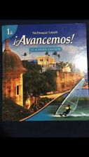 McDougal Littell Avancemos Teacher's Edition and Student Edition 1a (BUNDLE)
