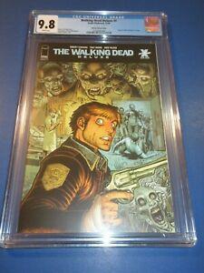 Walking Dead Deluxe #1 Adams Variant CGC 9.8 NM/M Gorgeous Gem Wow