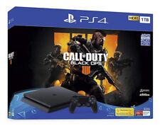 Sony Playstation 4 Slim 1TB Call of Duty: Black Ops 4 Console Bundle - Jet Black