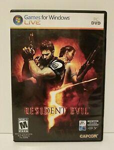 Resident Evil (2009) Games for Windows PC/DVD