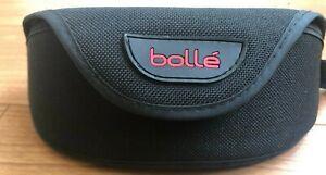 BOLLE High End Sunglasses Black & Red Soft Shell Case Holder