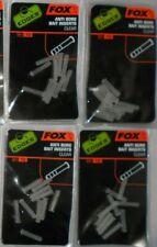 40 x FOX EDGES ANTI BORE BAIT INSERTS CLEAR CAC539
