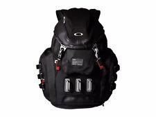 [92060A-001] Mens Oakley Kitchen Sink Backpack 34L Capacity - Black Red Bag