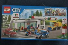 LEGO City 60132 Gas Fuel Service Station 515 pc SET ~ NEW Sealed IN BOX, RETIRED