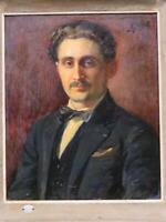 THE BOOZE MAN Henri Pierre Jamet Portrait of Paul Bouzy 1913 French Wine Maker