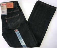 Levis 505 Regular Jeans NWT Boy's 10reg 25-25 3D Black FREE SHIPPING