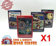 1X INTELLIVISION GAME CIB TALL BOX - CLEAR PLASTIC PROTECTIVE BOX PROTECTORS