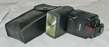Canon Speedlite 430EZ Flash Hot Shoe Mount with Case - Film EOS