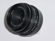 CARL ZEISS JENA DDR 50mm F/2.8 TESSAR M42 Screw Mount Manual Focus Lens