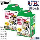 40 Fuji Instax Mini Film for Instax Mini 90, 50, 25, 8, 7s, 7 (2 boxes of 20)