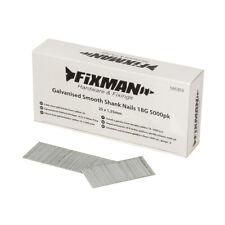 Fixman 396340 Clavos lisos con cabeza ovalada Plata 1 kg