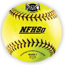"Mark 1 12"" Nfhs Approved Softballs (1 Dozen)"