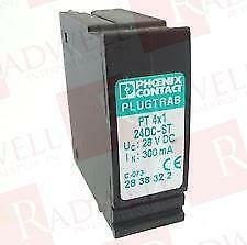 PHOENIX CONTACT PT-4-24DC-ST (Surplus New not in factory packaging)