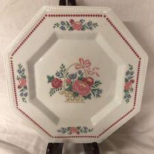 "Fairfield China Williamsburg 10 1/8"" Octagonal Dinner Plate Fine J.S a808-222"