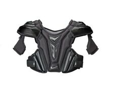 New Nike Vapor Field Lacrosse Player Shoulder Pads Senior Large chest black pad