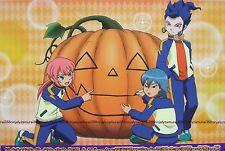 Inazuma Eleven GO chrono stone promo card big anime character data official