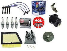 Honda Civic EX 96 to 00 Complete Tune Up Cap,Rotor,NGK Wires+Spark Plug,Filters