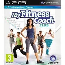 MY FITNESS COACH CLUB-PS3 NEW DVD
