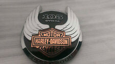 Harley Davidson Dyna Softail Touring 105th anniversary tank emblem LEFT/LINKS