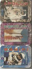 NASA Metal Tin Trading Card Set