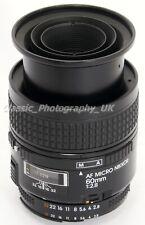 Nikon AF MICRO Nikkor 60mm 1:2.8 Close-Up 60mm F2.8 MACRO Lens for 35mm SLR DSLR
