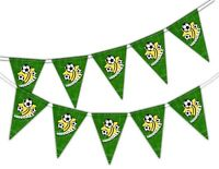 Football - Goal - World Cup - Bunting Banner 15 flags by PARTY DECOR