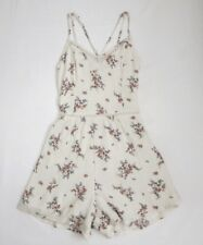 NWT Hollister Womens Vintage Floral Strappy Front Romper Size XS