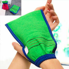 Shower Body Bath Gloves Exfoliating Wash Skin Spa Massage Scrub Scrubber Glove
