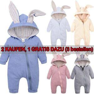 Hase Einteiler Kleinkind Baby Rompers Overall Strampler Pyjamas Jumpsuits Neu