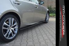 CUP Seitenschweller Ansätze für Lexus IS MK3 200T AB Bj. 13 Side Skirts Leisten