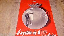 MYSTERE DE LA 13ème CHAISE ! scenario dossier presse cinema film allemand 1942