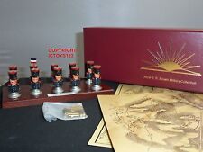 NAPOLEON BONAPARTE NAPOLEONIC WAR MAP MARKERS SERVICE METAL TOY SOLDIER SET