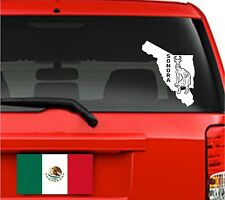 Car Decals. Wall Decal. Laptop Decal... Mapa Sonora, Mexico.
