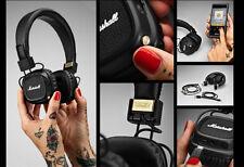 GENUINE NEW Marshall Major II Bluetooth Headphones Wireless - Black