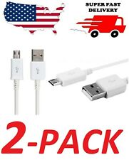 2 PACK New Fast Quick Charging Cable Phone Charger Data Micro USB Cord Universal
