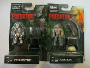 MEGA Construx PREDATOR Jungle Hunter DUTCH [2 Figure Final Battle Set] BRAND NEW