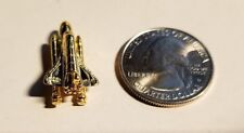 NASA Shuttle pin with boosters (free shipping on 3 or more)