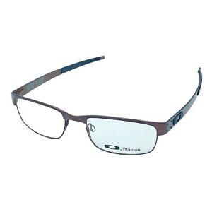Oakley Metal Plate Brown Titanium Eyeglasses Frame OX5038 53-18-140 (Authentic)