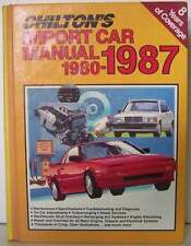 Chilton's Import Car Repair Manual 1980- 1987 by Chilto