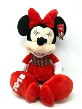 """New listing Disney Minnie Mouse Stuffed Plush Toy 2018 Christmas Holiday Gift 23"""" New w/Tag"""