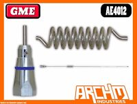 GME AE4012 UHF 60 CM STAINLESS STEEL WHIP 477 MHZ ANTENNA 6.6 DBI