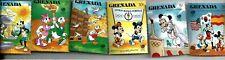 Grenada GRENADINES Disney Stamps Seoul Olympics  MNH 1988 (6) Donald Duck.....