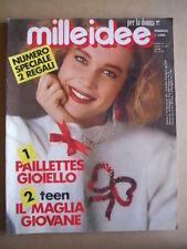 MILLEIDEE n°2 1988 - rivista di moda e lavori femminili  [G582]