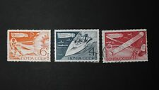 1969 Motorboats, Parachute jumping, Model aircraft Russia USSR Sc 3684-3686